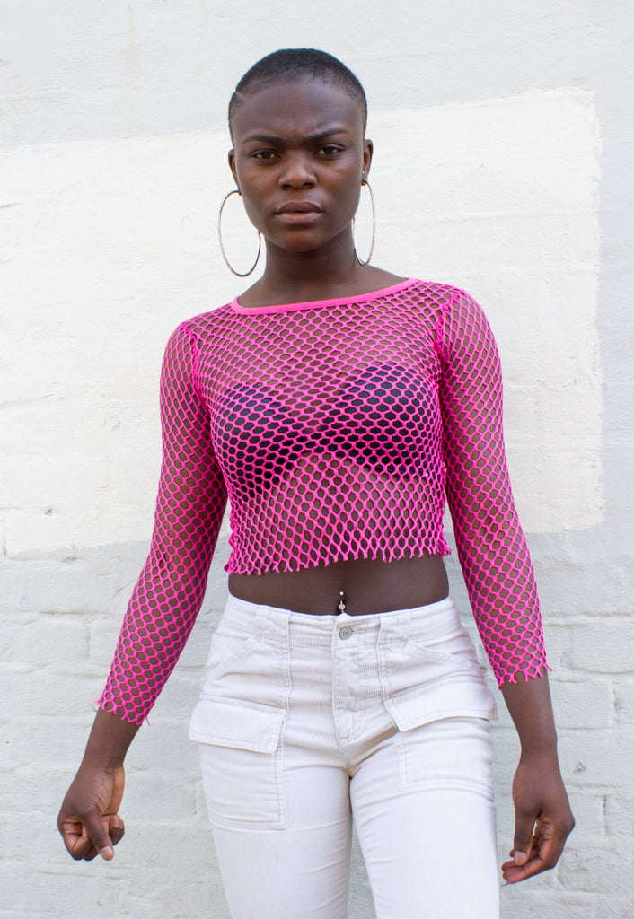 VINTAGE FISHNET TOP