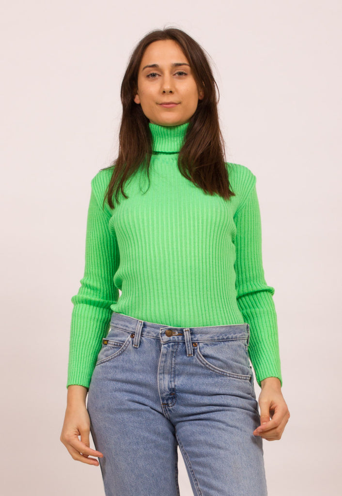 SKINNY RIBBED JUMPER