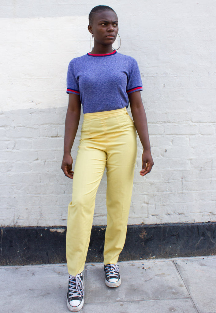 VINTAGE 'MOM' TROUSERS