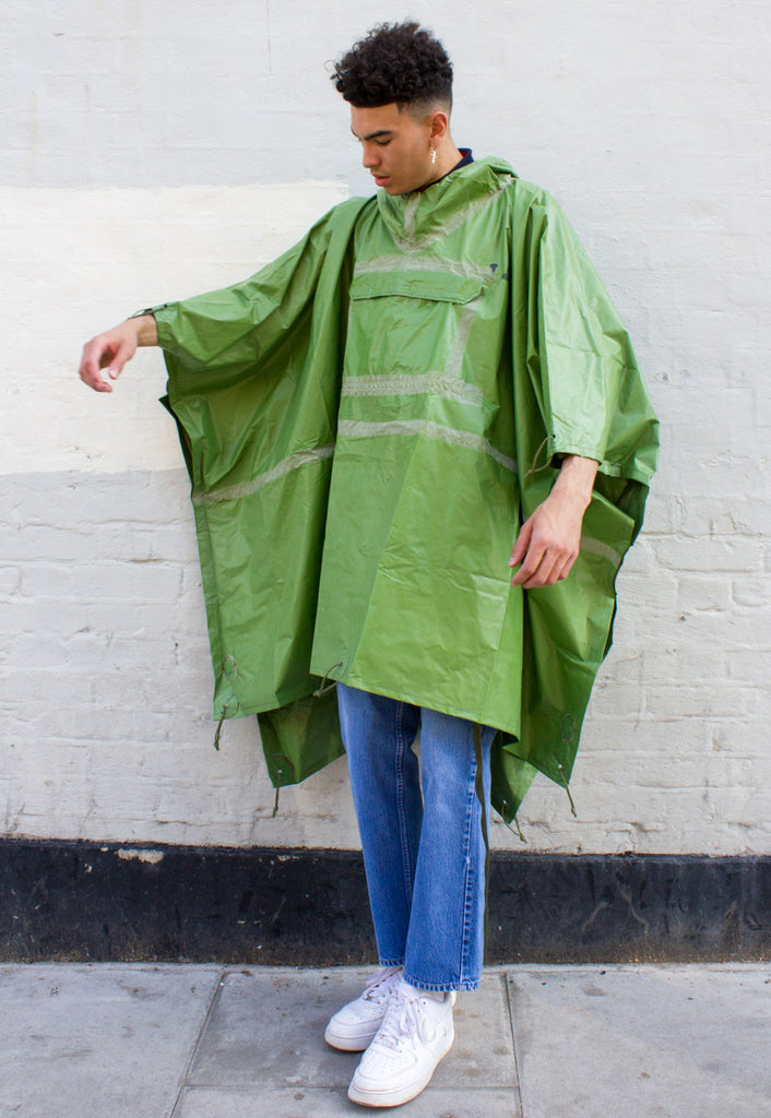 VINTAGE UNISEX WATERPROOF CAPE