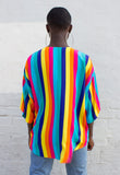 RAINBOW STRIPED SHIRT