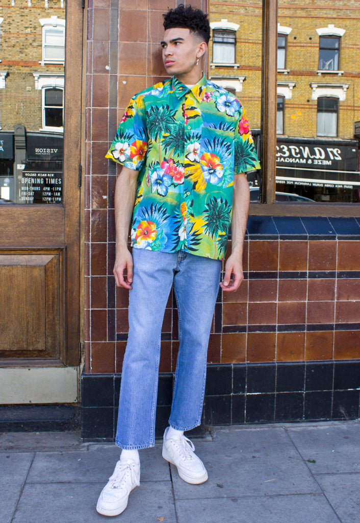 VINTAGE OVERSIZED HAWAIIAN SHIRT