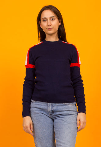Ellesse Sleevless Striped Knit