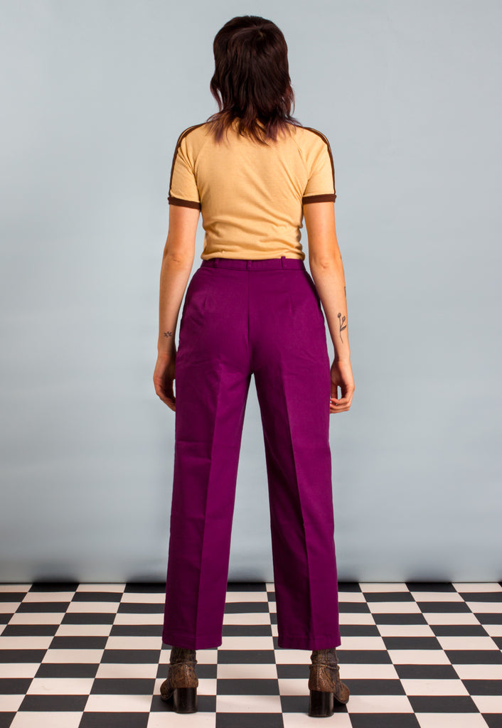 Vintage Levi Strauss and Co. Bend Over Sport Purple Trousers