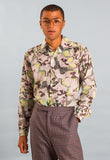 1970s Vintage Butterfly Print Shirt