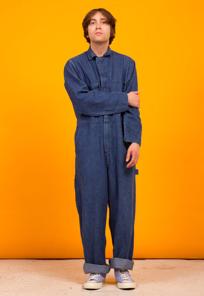 5930ae41d3d VINTAGE DENIM BOILERSUIT – mintvintageclothing