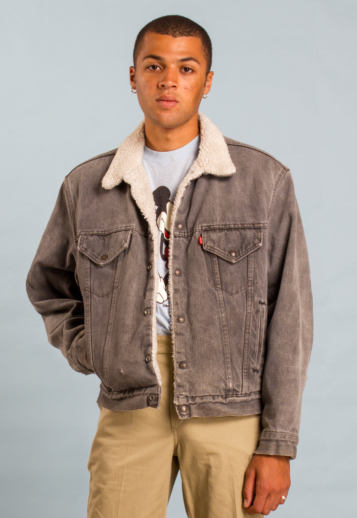 1980s Sherpa Lined Levi's Denim Jacket