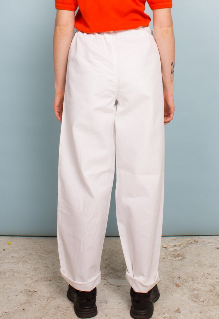VINTAGE WHITE TROUSERS