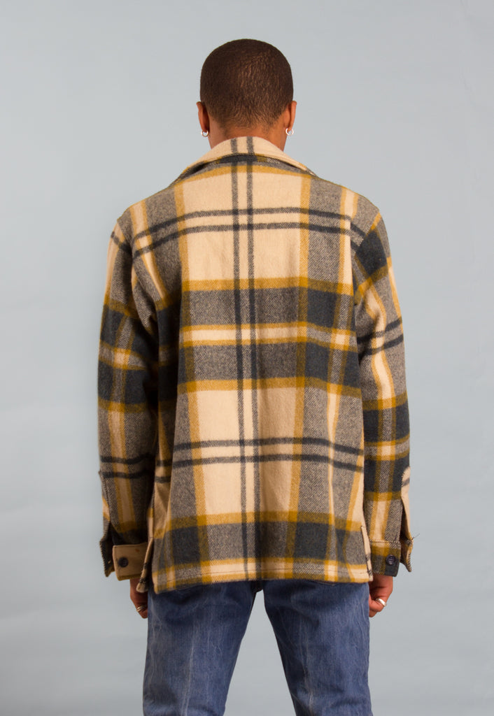 VINTAGE WOOLRICH LUMBERJACK PLAID SHIRT/ JACKET