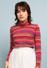 VINTAGE STRIPED TURTLENECK