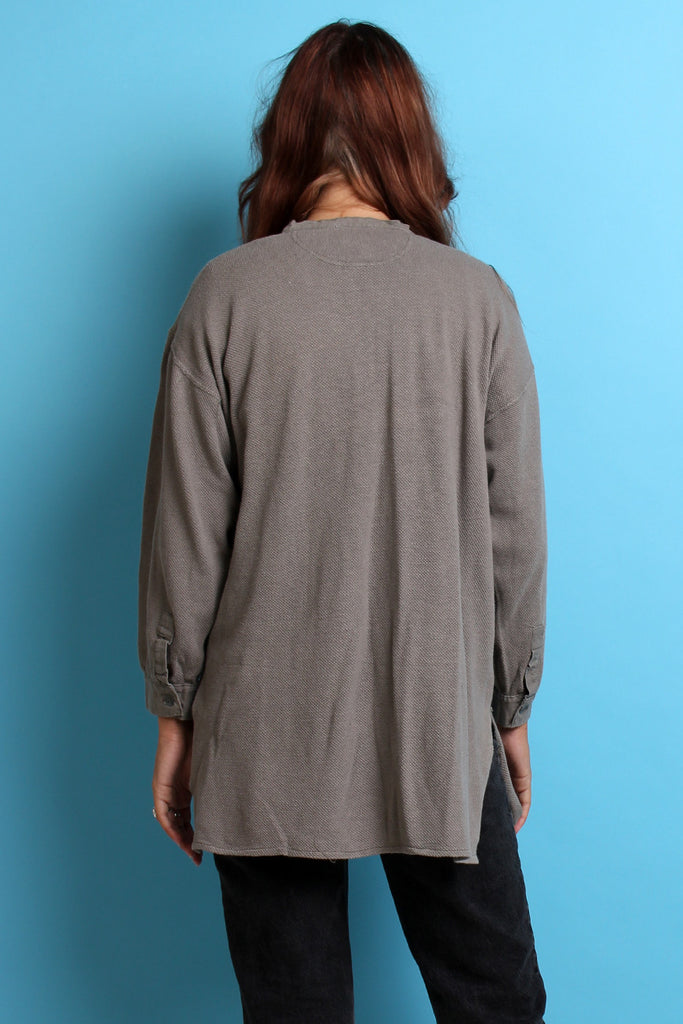 Oversized Vintage Grey Swedish Army Thermal