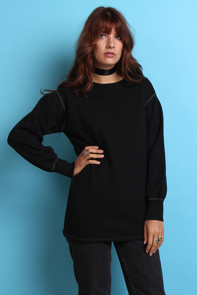 Black Military Thermal Sweat