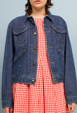 RARE vintage Wrangler selvedge denim jacket