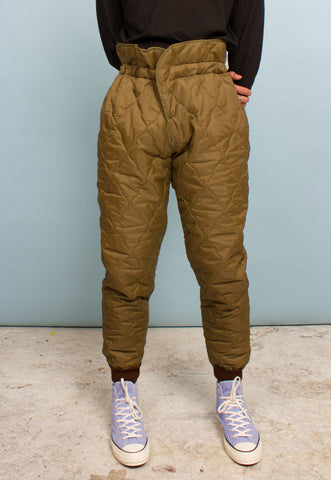 VINTAGE 'DIGITAL' PRINT CARGO TROUSERS