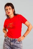 Vintage 70s/80s USA Red T-shirt