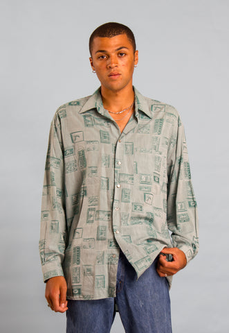 Vintage Plaid CPO Shirt