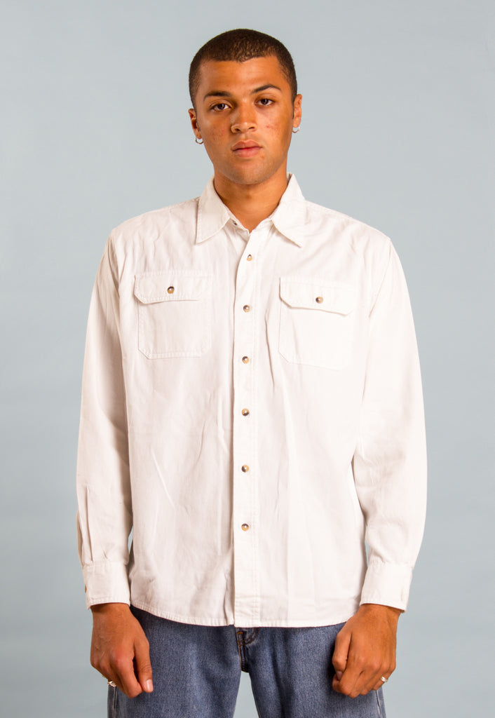Wrangler White Shirt