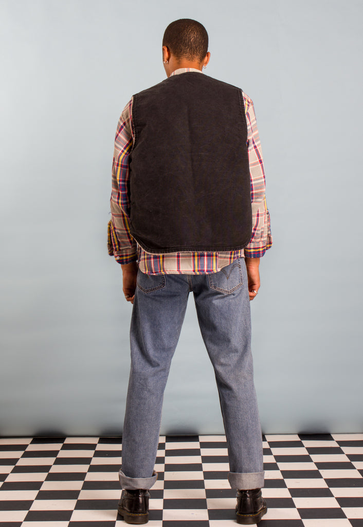 Vintage Carhartt Canvas Vest Jacket