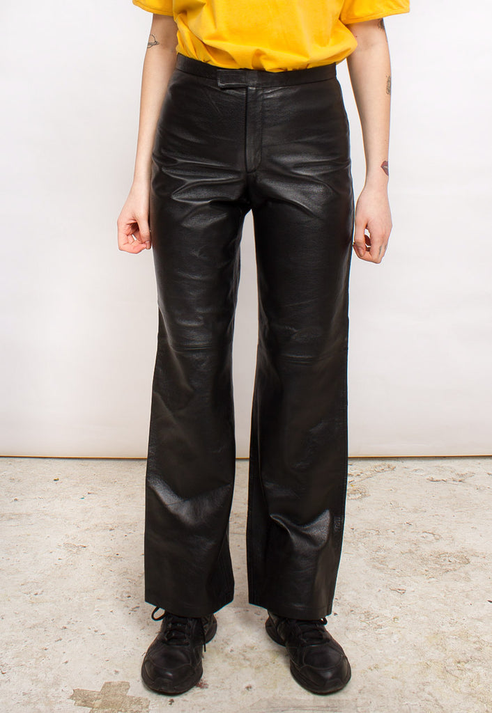 VINTAGE LEATHER TROUSERS