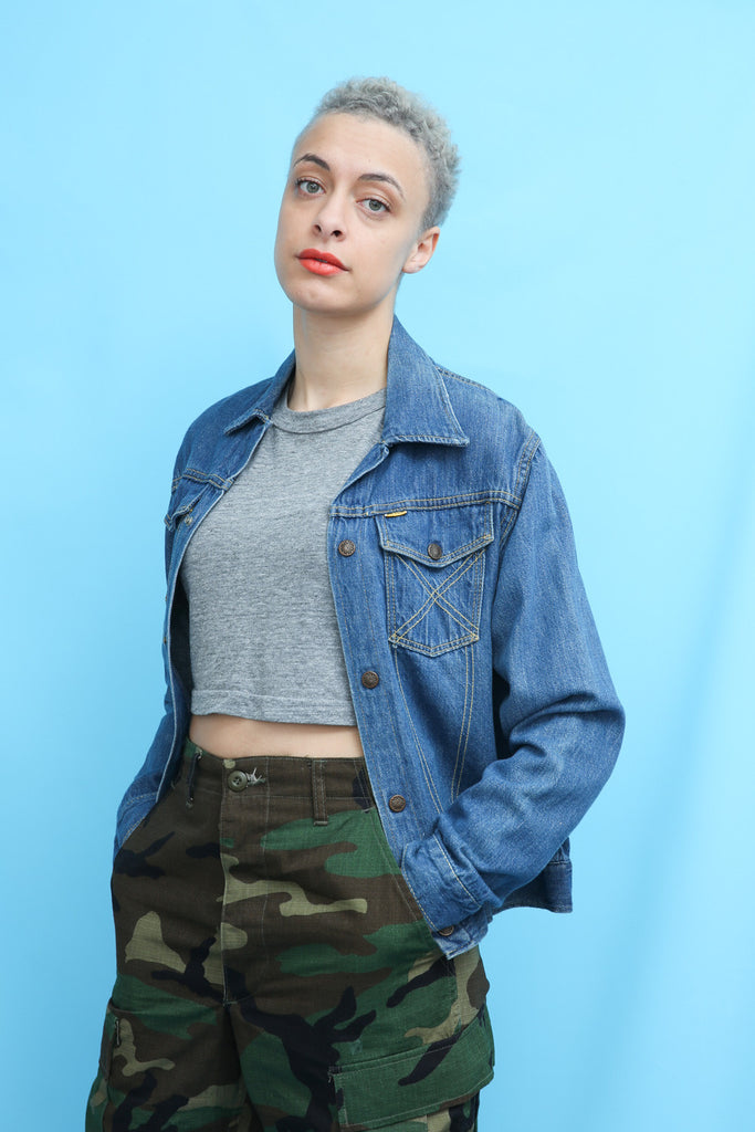70s Vintage Lightweight Denim Jacket