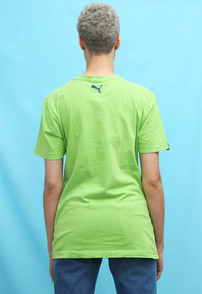 Puma Bright Green Oversized Sports T-shirt
