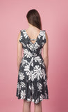 Hawaiian Flower Summer Dress