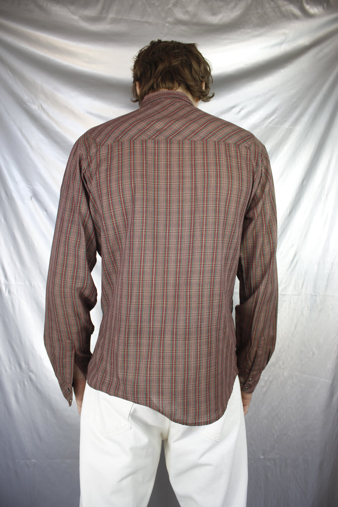Brown/Red Tartan Shirt