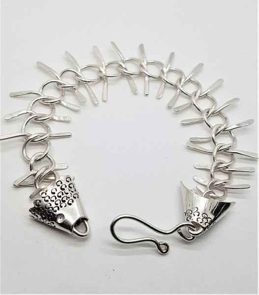 Fish Skeleton Bracelet