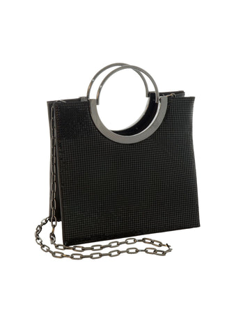 Nolita Tote with Handle and Chain Strap - 3 Colors