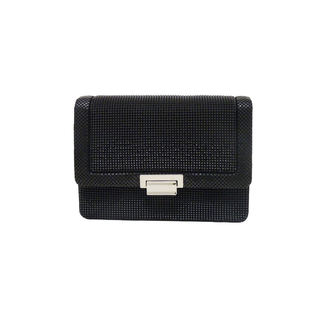MILANO PYRAMID CLUTCH - Black
