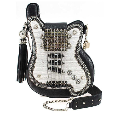 Spring 2019 - Greatest Hits Embellished Electric Guitar Crossbody Handbag