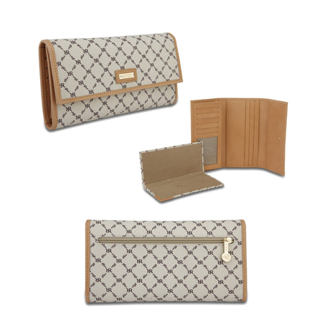 Checkbook Wallet - Signature Natural - Rioni