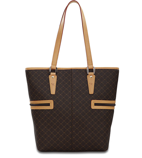 Tall Tote Shopper - Estate in Brown