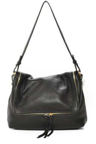 Haley Shoulder Bag - Black
