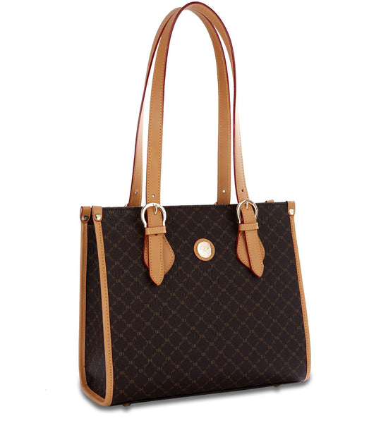 Shoulder Tote - Hannah - in Brown
