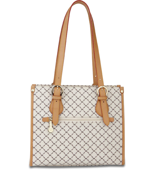 Shoulder Tote - Hannah - in Natural