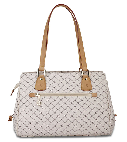East-West Shoulder Bag - Jayna in Natural