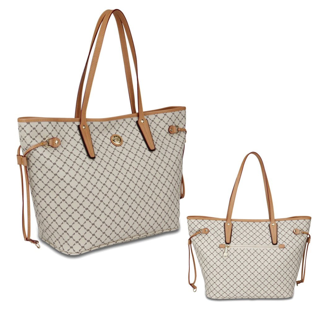 Luxury Tote Medium - Signature Natural - Rioni