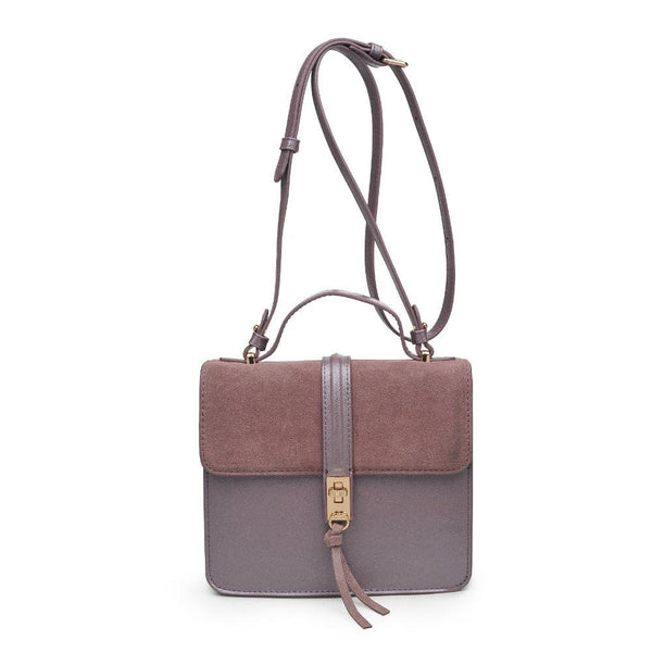 Kirsten and Genuine Suede Crossbody