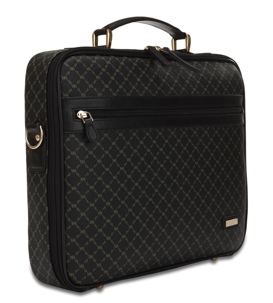 Jetsetter's Briefcase - Milan in Black