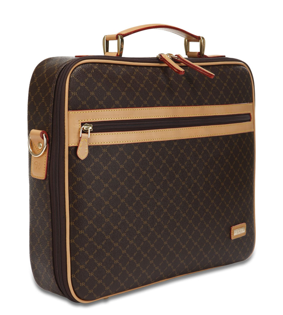 Jetsetter's Briefcase - Milan in Brown