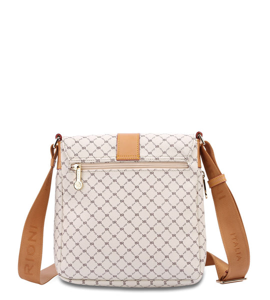 Top Buckle Messenger Bag - Miley in Natural