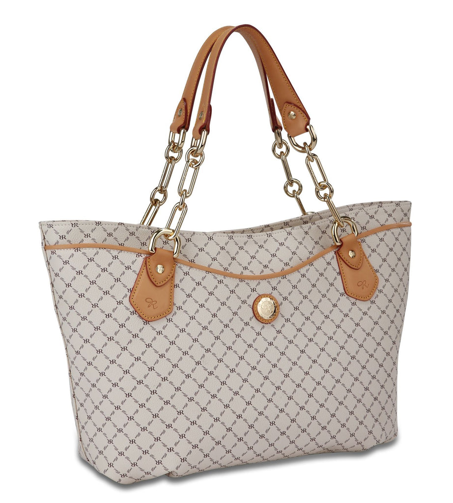 Trendy Traveler's Tote - Mira in Natural