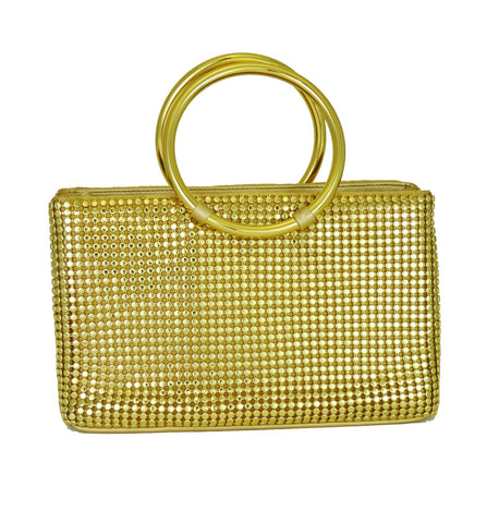 Nottinghill Metal Mesh Tote - 3 Colors