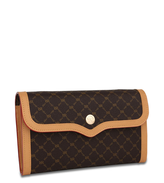 The Everyday Clutch - Parker in Brown