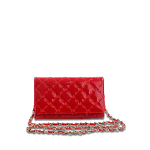 Mini Crossbody Clutch Red - Cuscino Collection