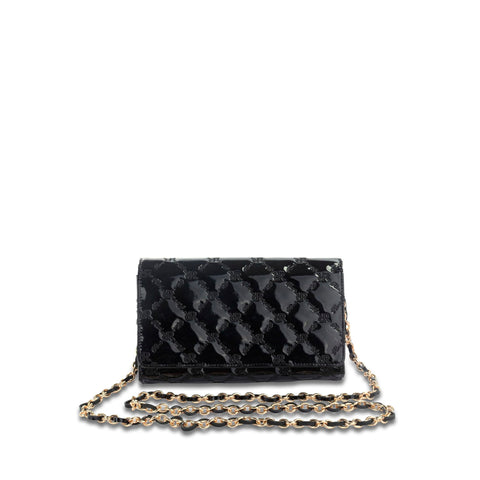Mini Crossbody Clutch Black - Cuscino Collection