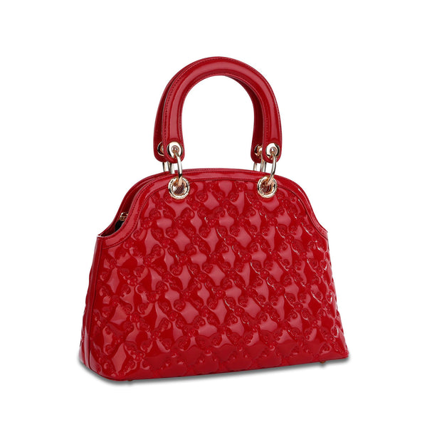 Zoey Satchel Red - Cuscino Collection