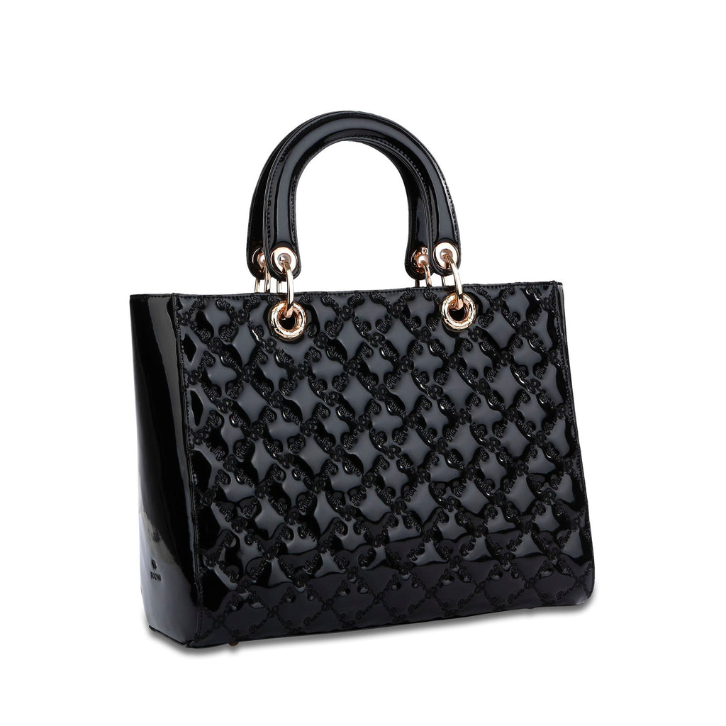 The Zoey Tote - Black - Cuscino Collection