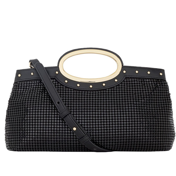 Studded Handle Clutch - 2 Colors